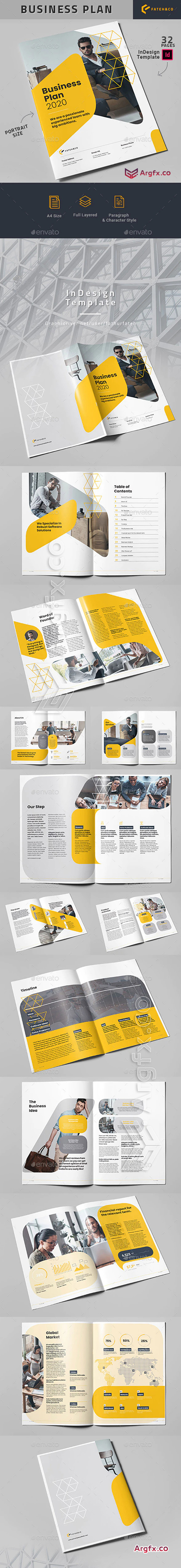 GraphicRiver - Business Plan 2020 25695832