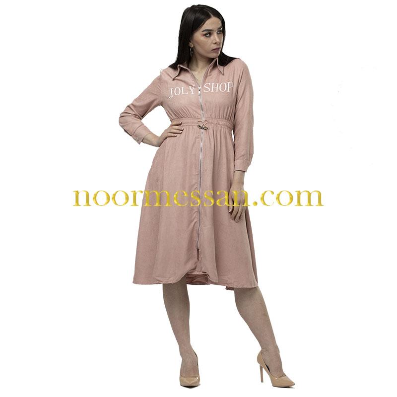 فستان شامواه كاجوال ميدي وردي