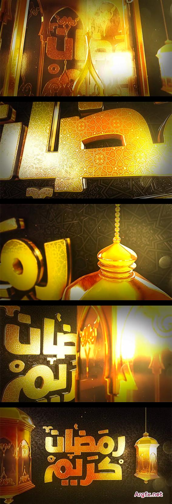 Videohive - Ramadan Goldish Opener - 19898912