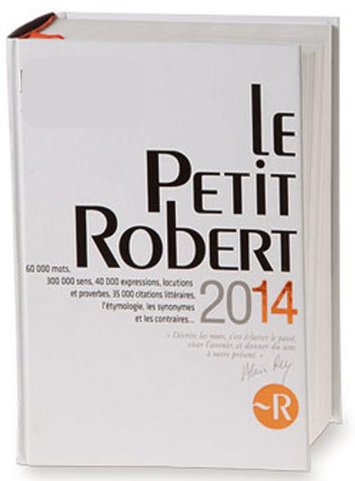 القاموس الفرنسي Le Petit Robert 2014 P_54541w6z1